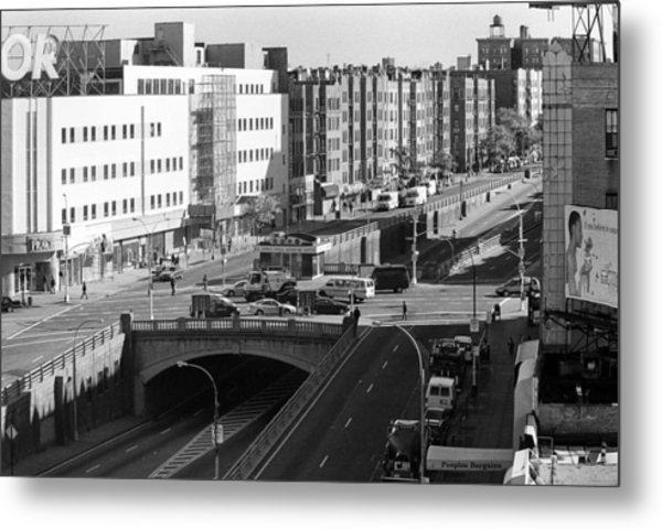 Grand Concourse Bronx Metal Print