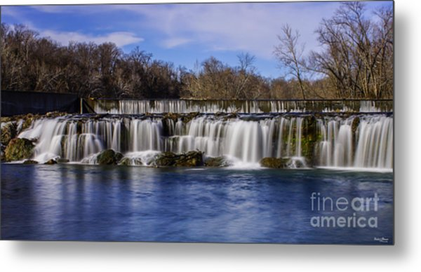 Grand Falls In Joplin Missouri Metal Print