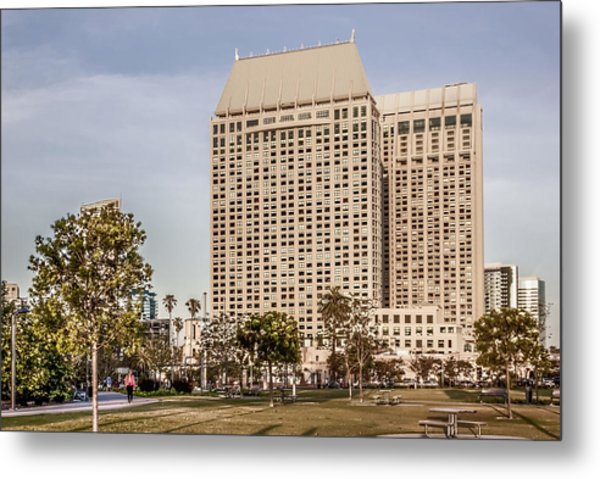 Grand Hyatt San Diego Metal Print by Photographic Art by Russel Ray Photos