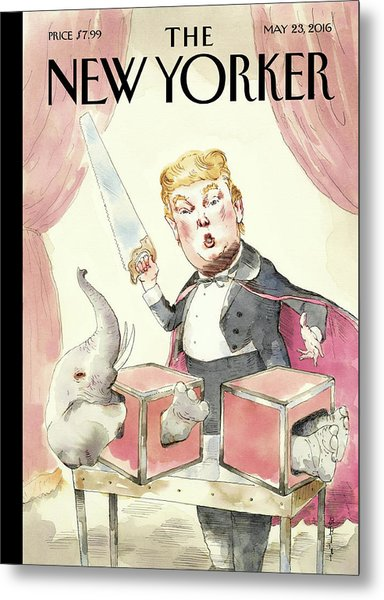 Grand Illusion Metal Print by Barry Blitt