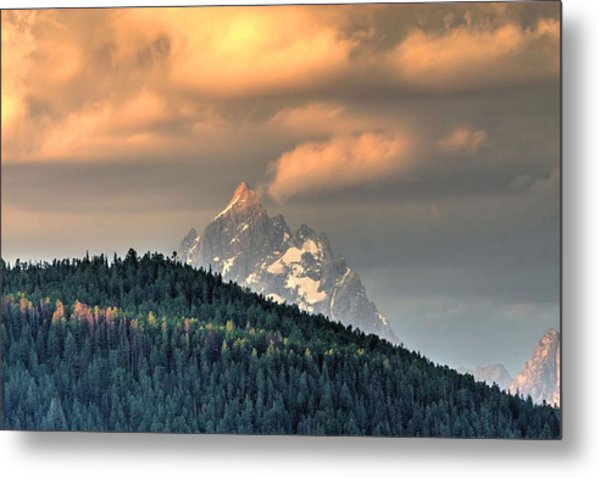 Grand Morning Metal Print