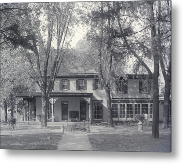 Grand Old House Metal Print
