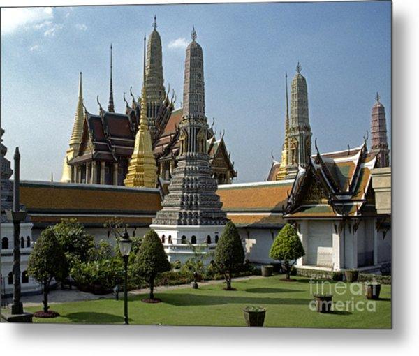 Grand Palace Bangkok Metal Print