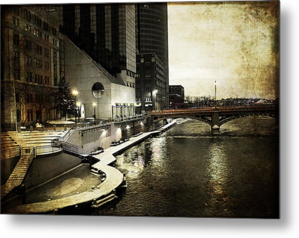 Grand Rapids Grand River Metal Print