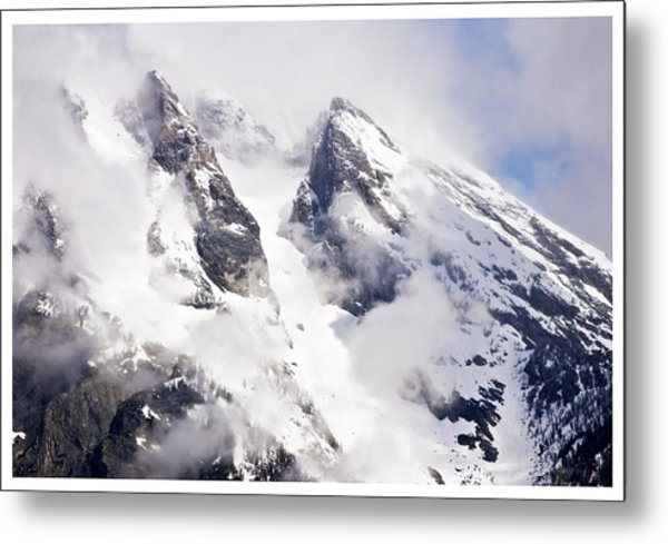 Grand Teton Glacier Metal Print
