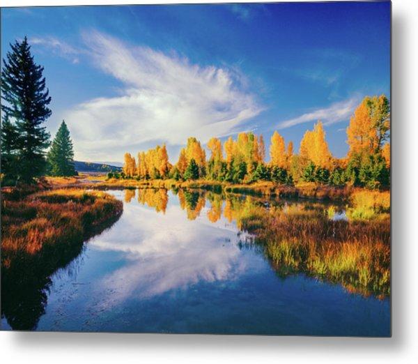 Grand Teton National Park, Wy Metal Print by Ron thomas