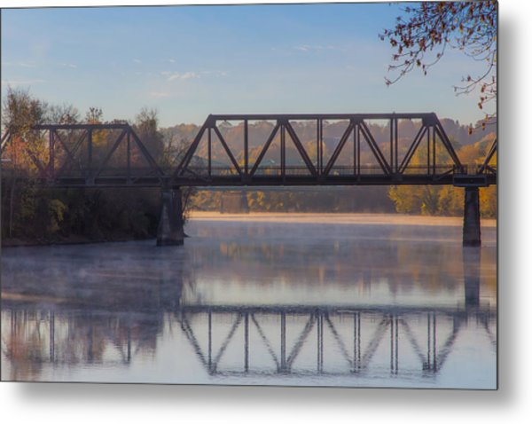 Grand Trunk Railroad Bridge Metal Print