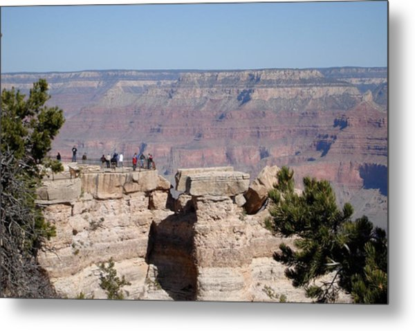 Grand View Metal Print by Gerald Dobbin