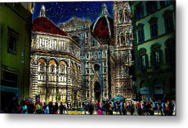 Grandeur Metal Print by Cary Shapiro