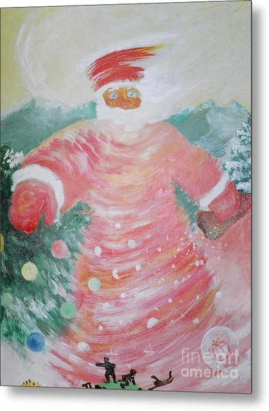 Grandfather Frost Metal Print