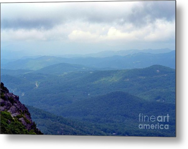 Grandfather Mountain Linville Nc Metal Print