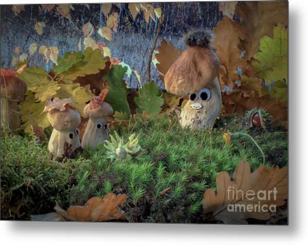Grandfather Your Tales Of Underground Truffle Are Already Tired Metal Print