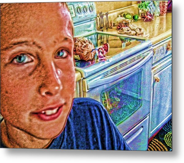 Grandson II Metal Print by Robert Rhoads