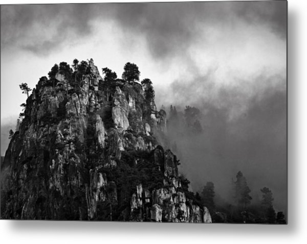 Granite Bluff  Mg2420 Metal Print
