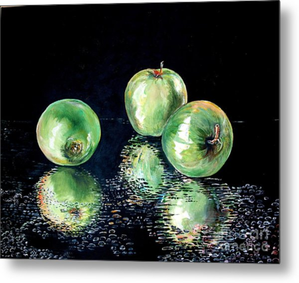 Granny Smith Metal Print