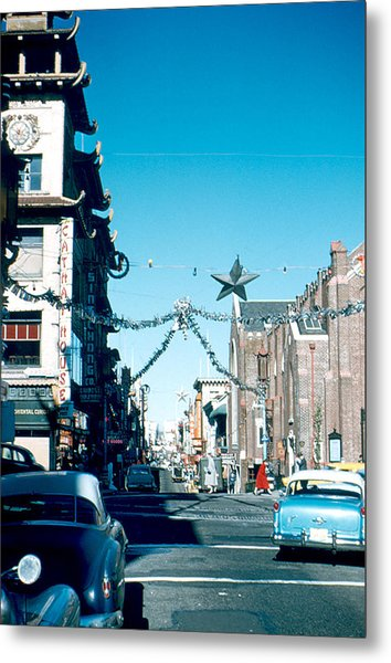 Grant Street 1956 Metal Print by Cumberland Warden