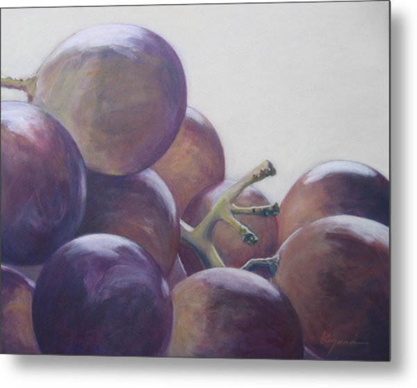 Grapes No.5 Metal Print