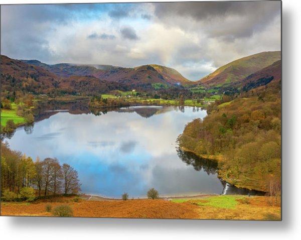 Grasmere, Lake District National Park Metal Print by Chris Hepburn