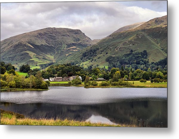 Grasmere Lake Metal Print
