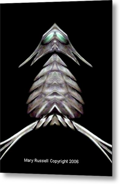Gray Owl Metal Print