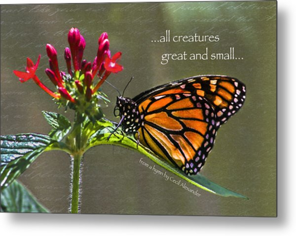 Great And Small Metal Print