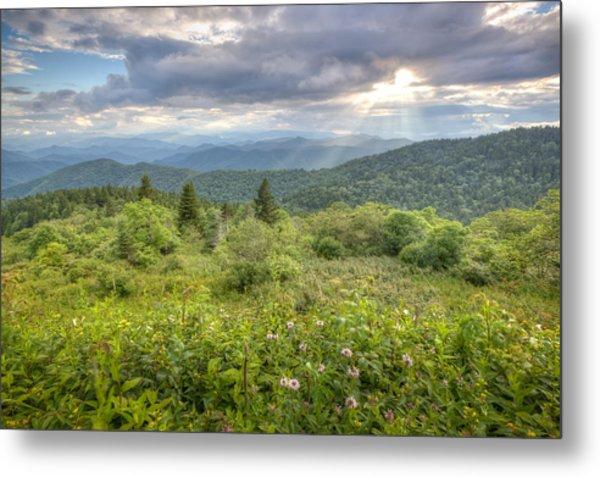 Great Balsam Mountains Metal Print by Doug McPherson
