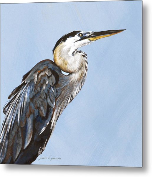 Great Blue I Metal Print