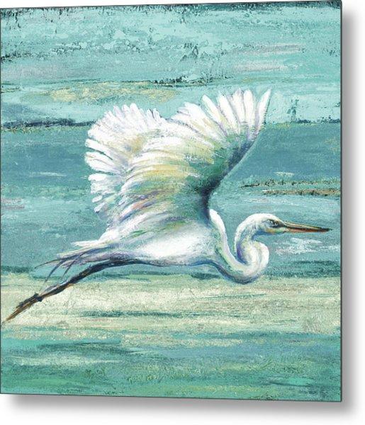 Great Egret I Metal Print