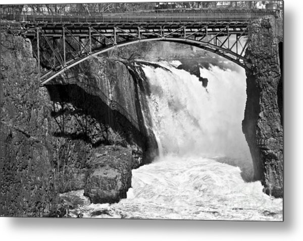 Great Falls In Paterson Nj Metal Print