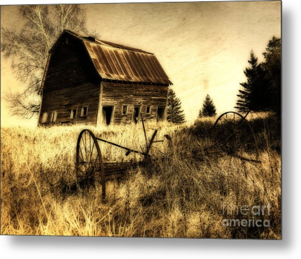 Great Grandfather's Barn II Metal Print