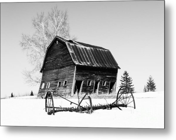 Great Grandfather's Barn Metal Print