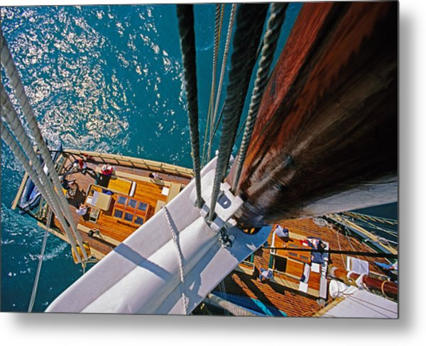 Great Lakes Tall Ship Metal Print