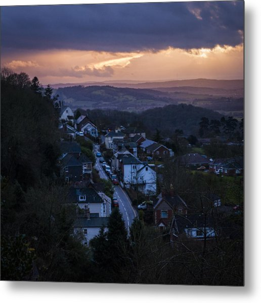 Great Malvern Sunset Metal Print