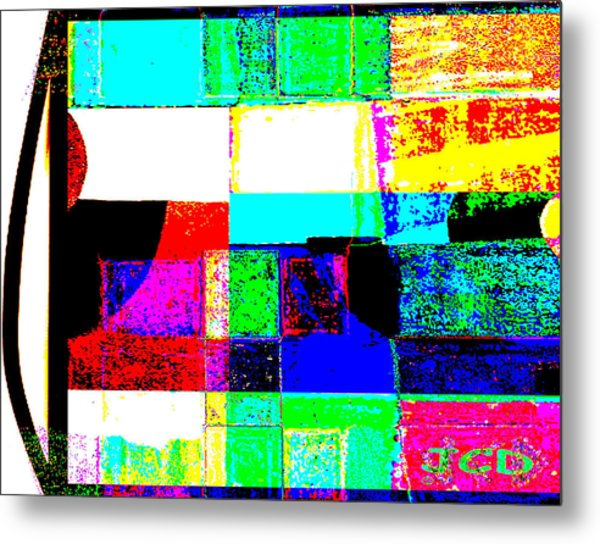 Great Mix Metal Print by Jean-Claude Delhaise