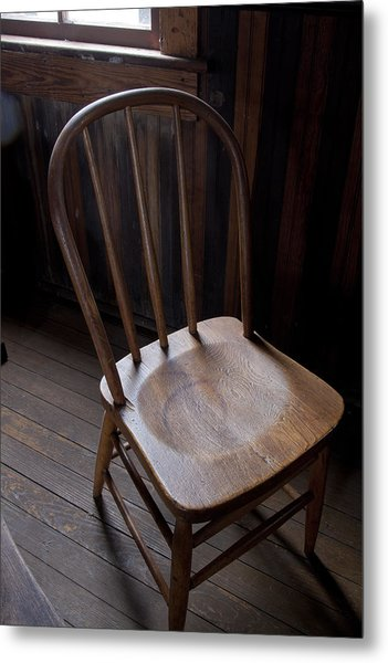 Great Old Chair Metal Print