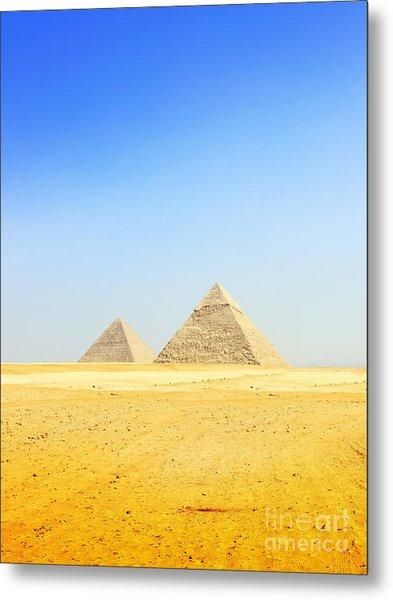 Great Pyramid Of Giza Metal Print