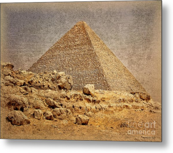 Great Pyramid Of Khufu Metal Print