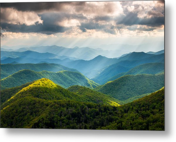 Great Smoky Mountains National Park Nc Western North Carolina Metal Print