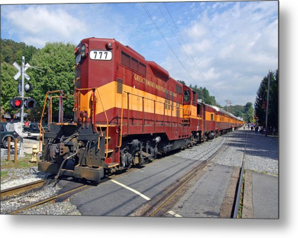 Great Smoky Mountains Railroad 1 Metal Print