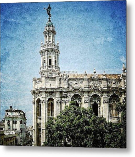 great Theatre Of Havana (1838 - Metal Print
