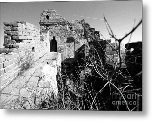 Great Wall Ruins Metal Print