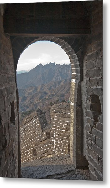 Great Wall View Metal Print