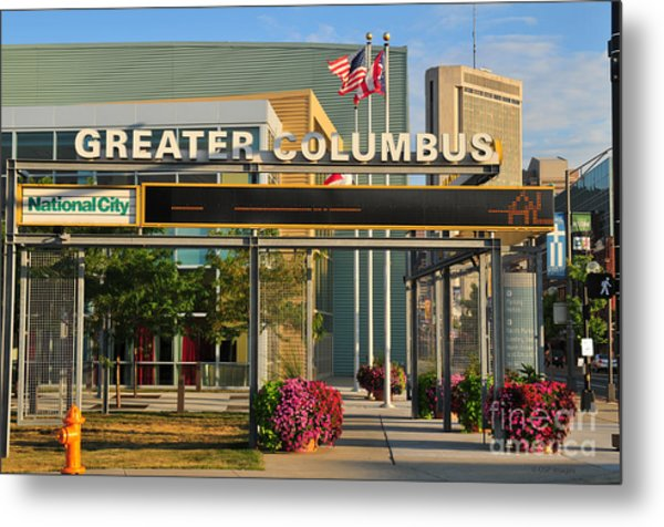 D8l-245 Greater Columbus Convention Center Photo Metal Print