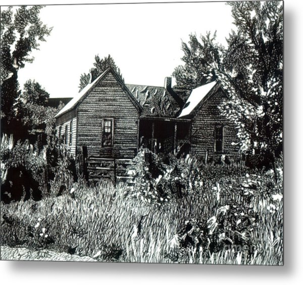 Greatgrandmother's House Metal Print