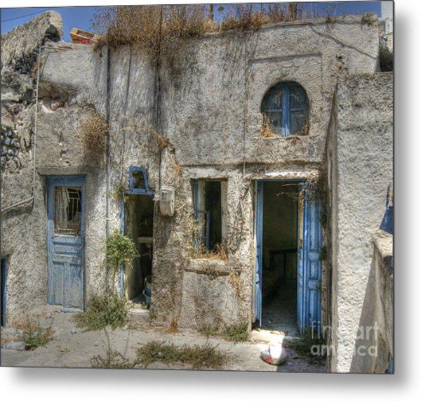 Greece Before The Tourists Metal Print
