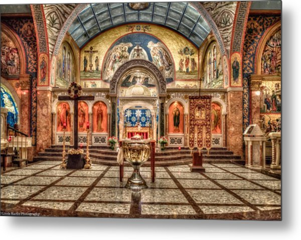 Greek Orthodox Cathedral Of Saint Paul Metal Print