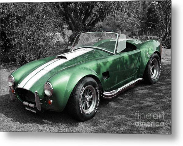 Green Cobra Metal Print