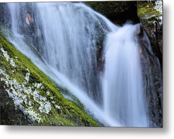 Green Diamonds  Metal Print by JC Findley