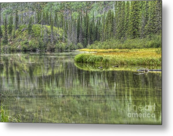 Green Lake Metal Print