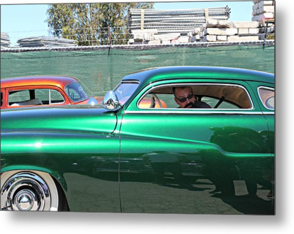 Green Merc Metal Print